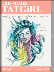 TAT Girl Issue 2 Cover